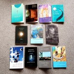Poetry books for the Sealey Challenge