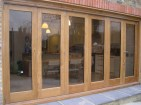 Sliding folding doors - Chislehurst (1)