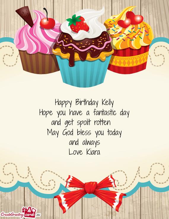 Happy Birthday Kelly Free Cards