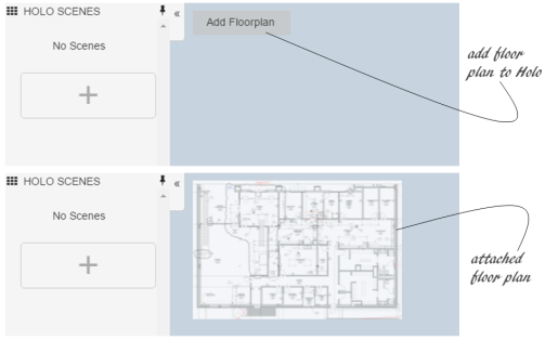 Add a Floor Plan to your scenes