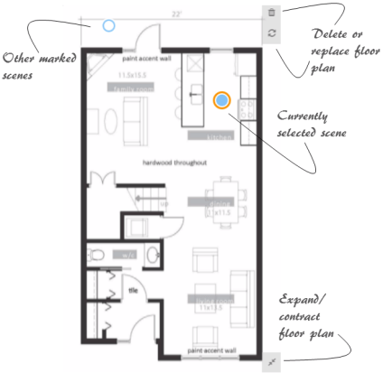 Attached floor plan