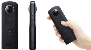 The Ricoh Theta S (image by threesixtydegreevideo.com)
