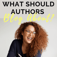 What Should Authors Blog About? aka Content Strategy for Authors