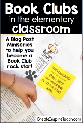 Biij clubs in the elementary classroom part 1 pin