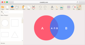 Venn Diagram Maker to Create Venn Diagrams Online | Creately