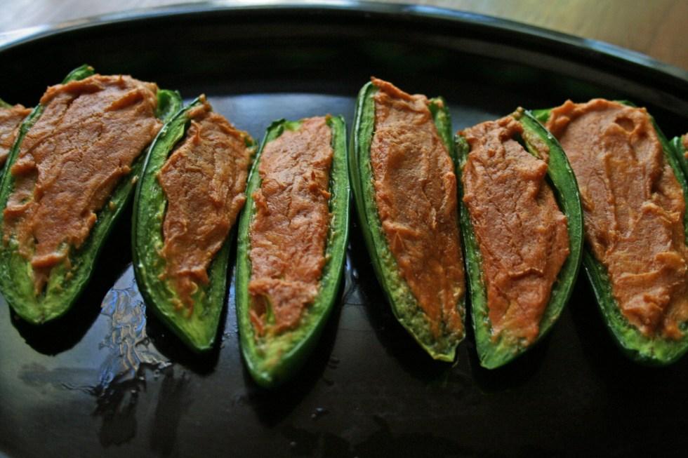 Curry Stuffed Jalapeños