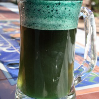 Natural Green Beer for St. Patrick's Day