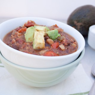 Slow Cooker Tempeh Chili