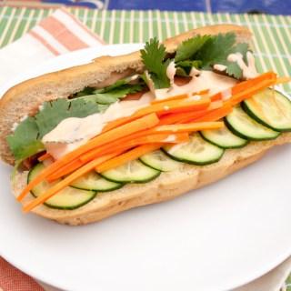 Vegan Banh Mi Hot Dog