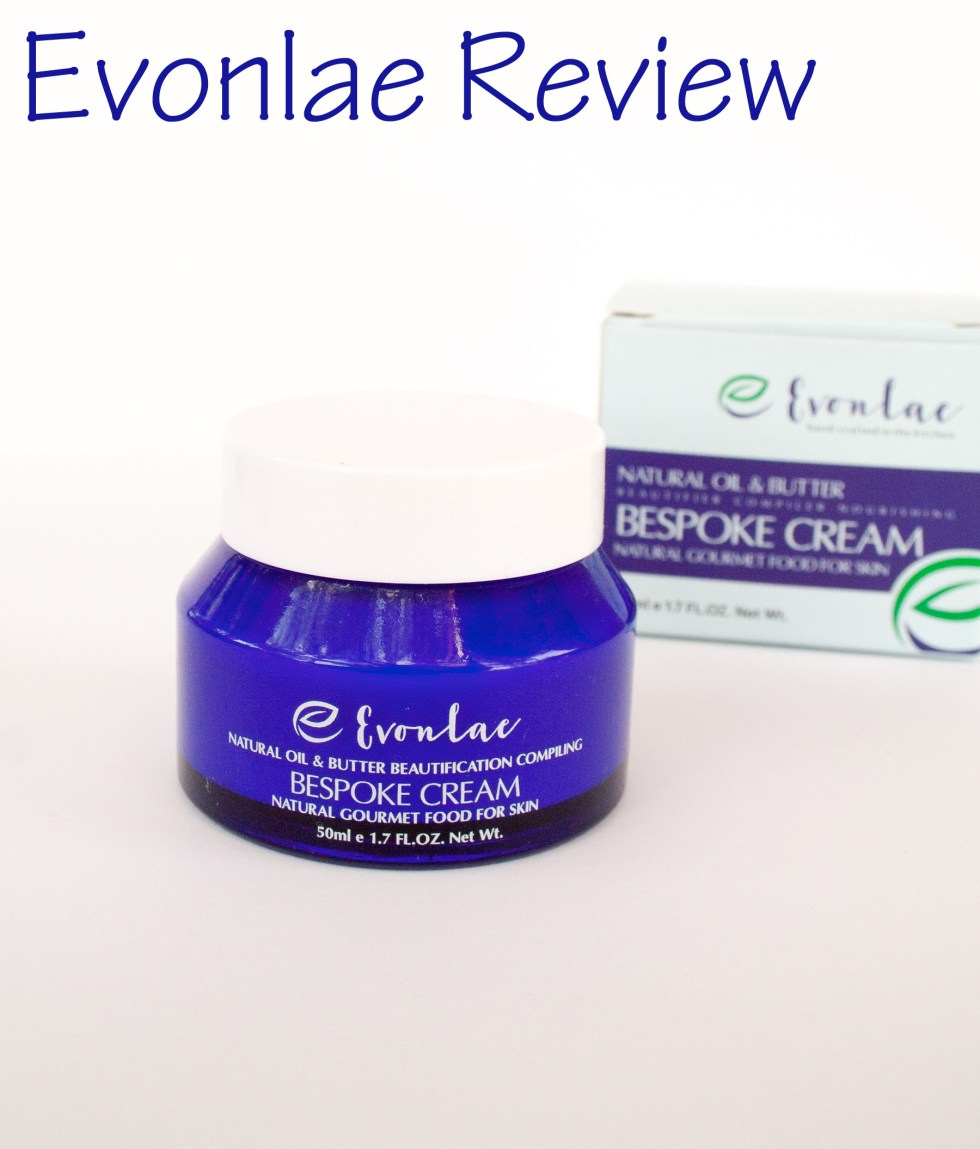 Evonlae Bespoke Cream Review - Looking for a hydrating cream that is all natural? Then you should check out Evonlae creams.