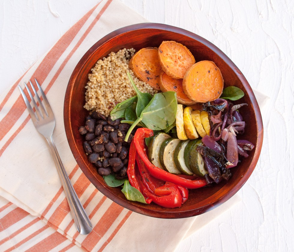 Southwestern Buddha Bowl - This sweet, smoky, spicy vegan bowl will satisfy your Southwest food cravings without having to travel to the Southwest!