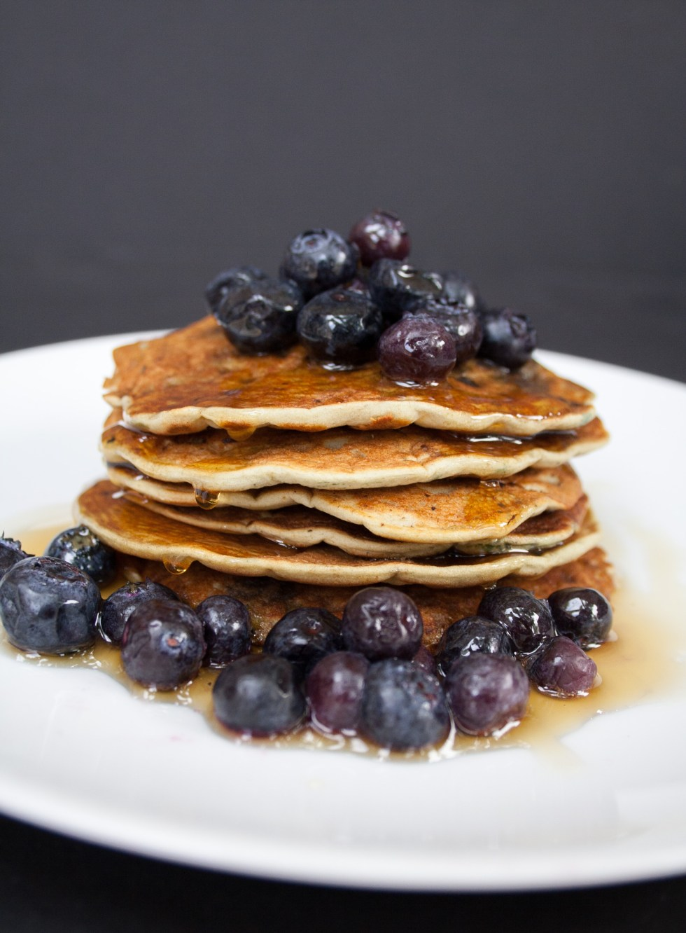 Vegan Gluten Free Blueberry Pancakes - If you are a person who loves a sweet breakfast, then these pancakes are for you!