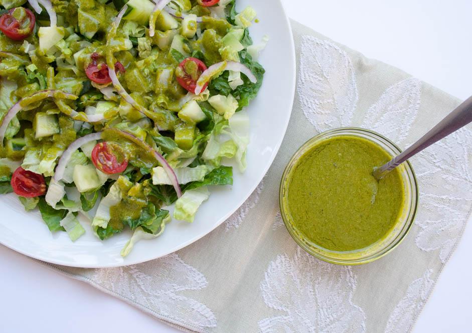 Menu For Olive Garden: Basil Dill Vinaigrette