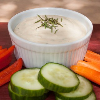 Rosemary White Bean Hummus