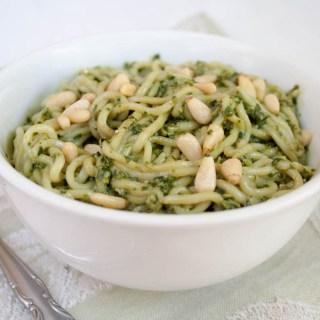 Vegan Pesto Shirataki Noodles
