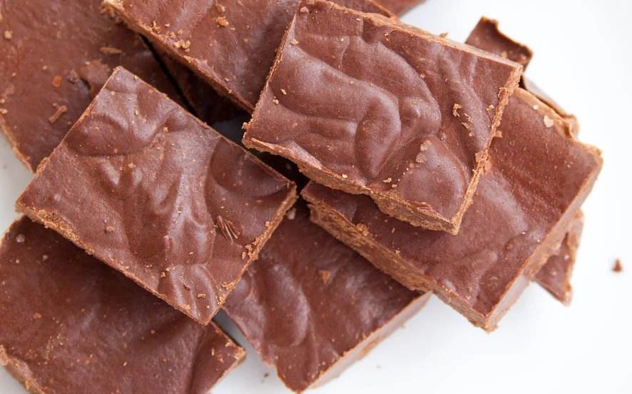 Chocolate Low Carb Vegan Fudge