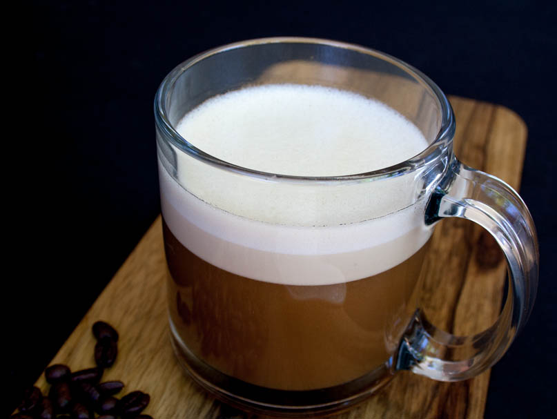 Vegan Bulletproof Coffee (gluten free, sugar free) - Whether you are on a vegan keto plan, or want to add more coconut oil into you diet, this recipe is for you!