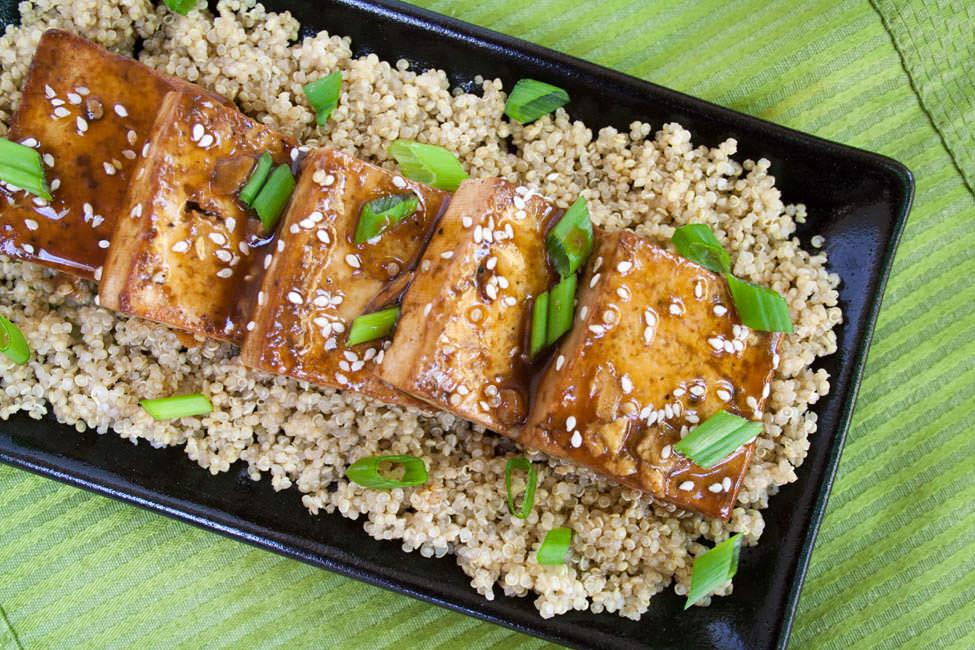 Ginger Hoisin Tofu