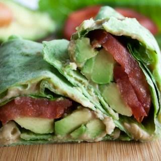 ALT (Avocado, Lettuce, and Tomato) Wrap