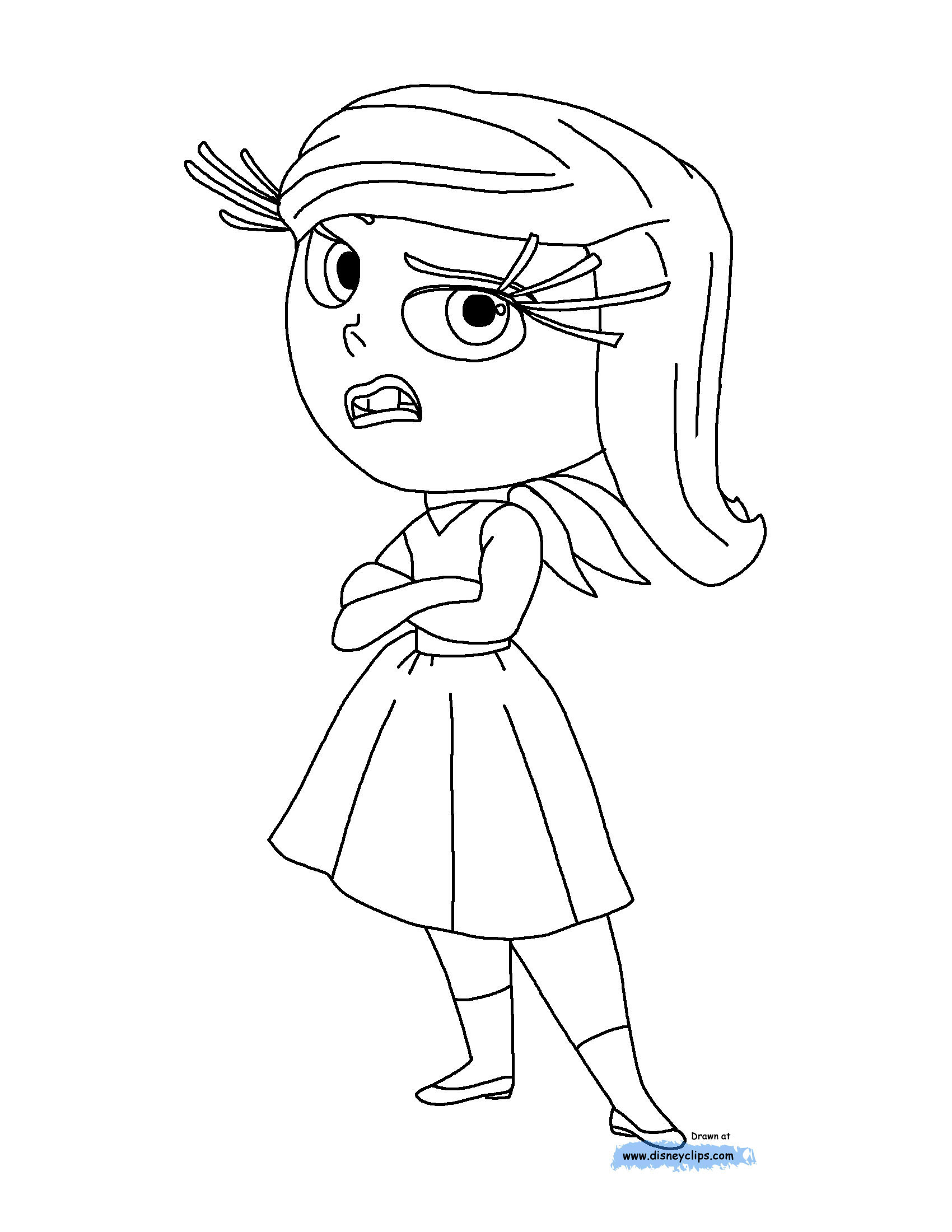 Disney S Inside Out Movie Amp Coloring Pages