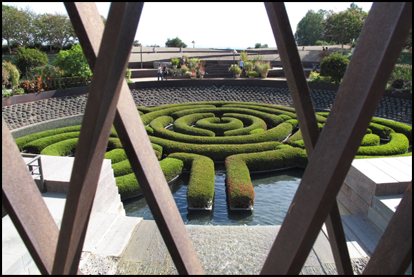 Getty Museum Labyrinth