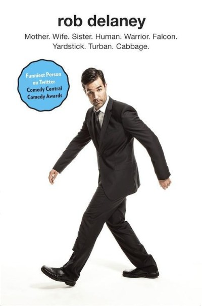 Rob Delaney Book Cover