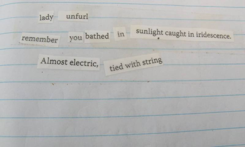 Poem from Firefly Writing Retreat