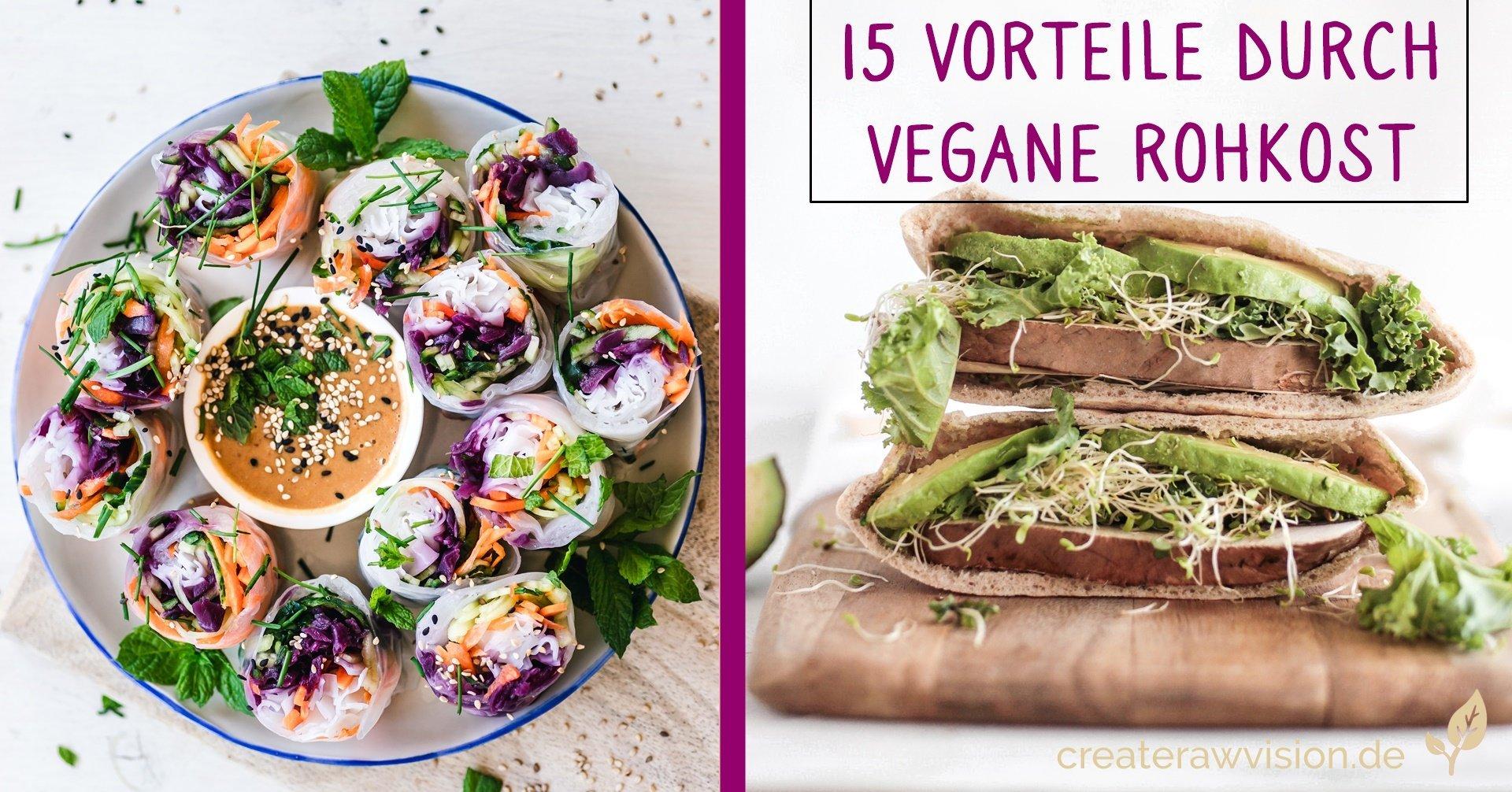 Vegane Sushi, vegane Sandwiches