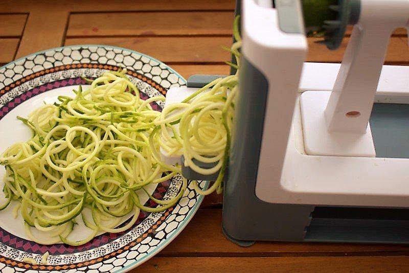 Gemüsepasta –  Gesunder Spaghetti-Ersatz