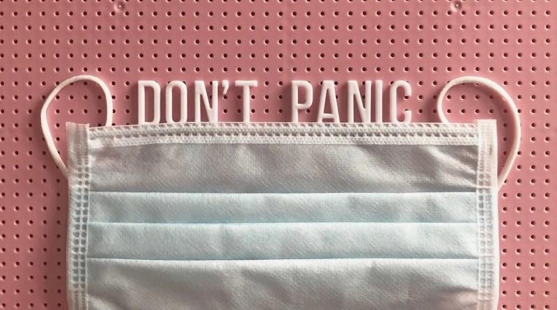 Don't panic make a face mask