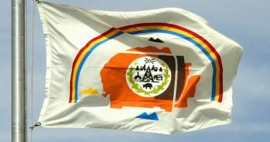 The Navajo Nation flag HDR