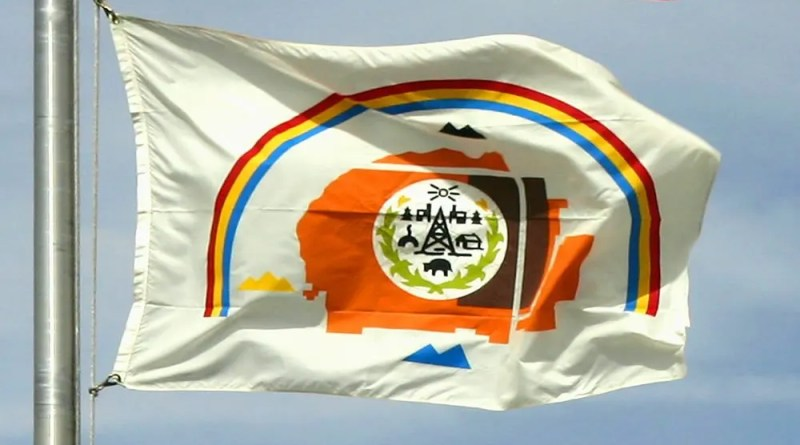 The Navajo Nation flag HDR