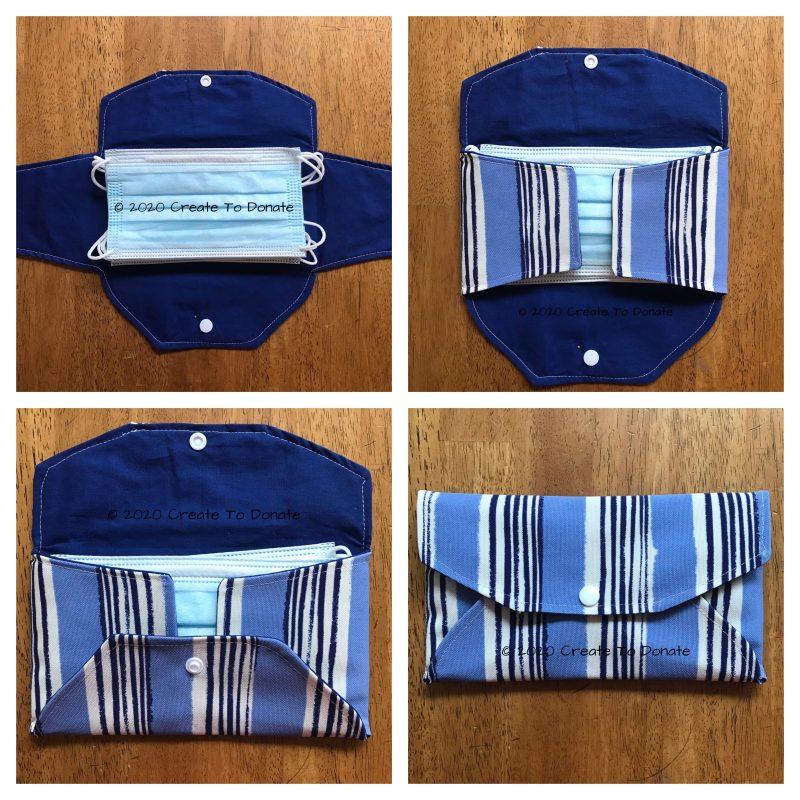 Face-mask-holder-envelope-wallet