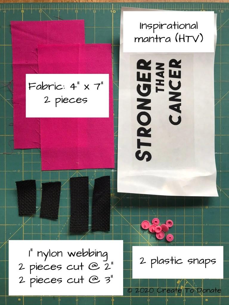Materials for custom port seat belt protector