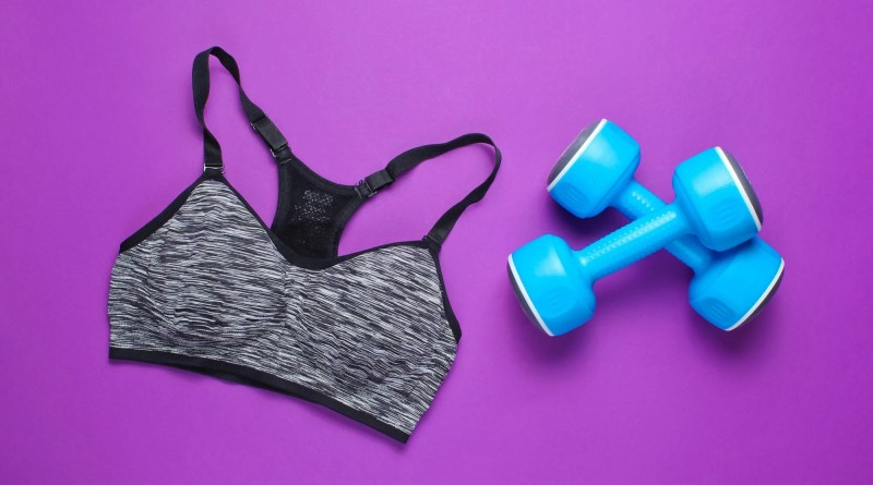 Bra bumper port pillow for exercising hdr