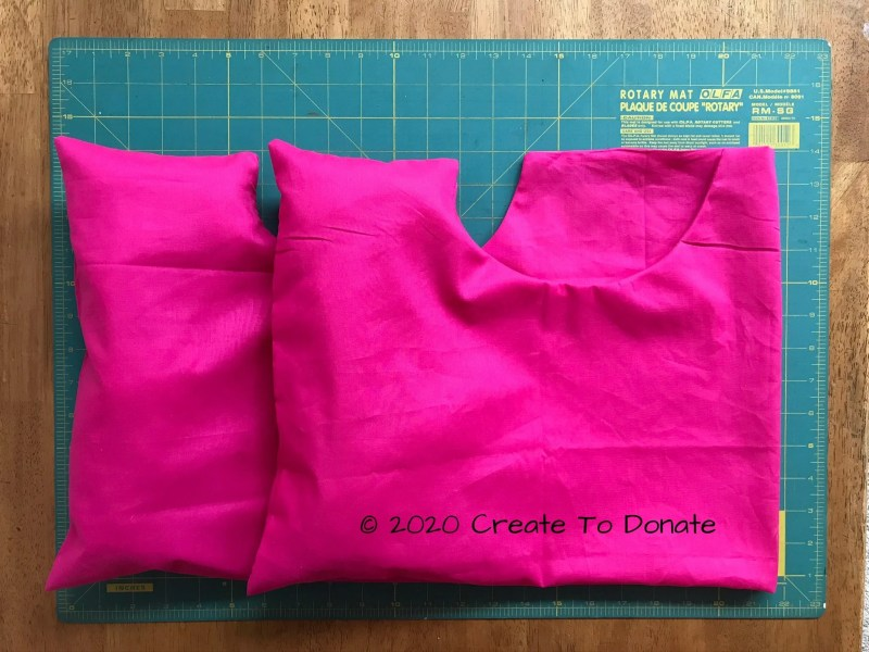 Mastectomy pillow for breast cancer patient