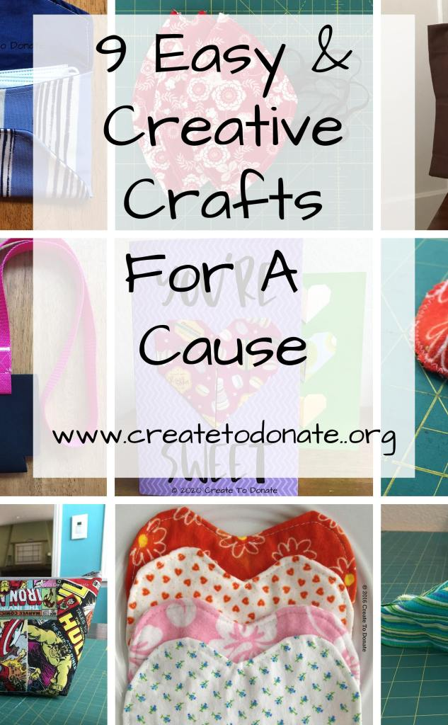 9 creative crafts for a cause
