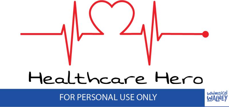 Free healthcare hero SVG