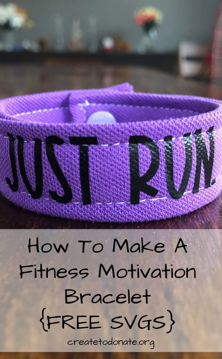 How to make a fitness motivation bracelet