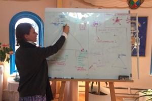 Conférence Julia Braga à Idéal Society- Createur recherche paix interieure
