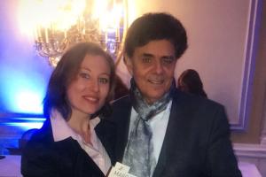 Julia Braga et Marc Fisher, auteur international