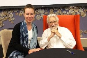 Julia Braga et Neale Donald Walsch, auteur de conversation avec Dieu