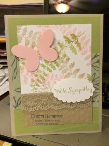 Maidenhair Fern Sympathy Create With Cheryl