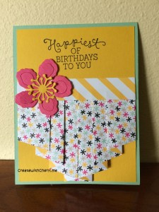 Full Pleated Card Create With Cheryl