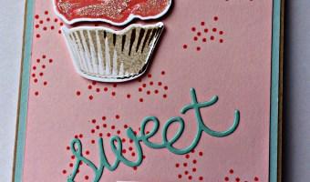 Sweet Cupcake for  #SSINKIC35: INKspiration Challenge