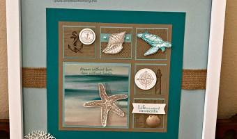 Home Decor Project- Seascape Framed Art
