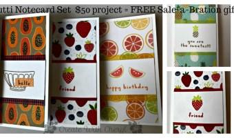 ICS Blog Hop: A Recipe for Sale-a-Bration Tutti-Frutti