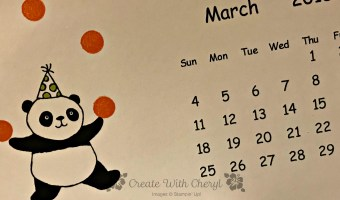 Party Panda for March