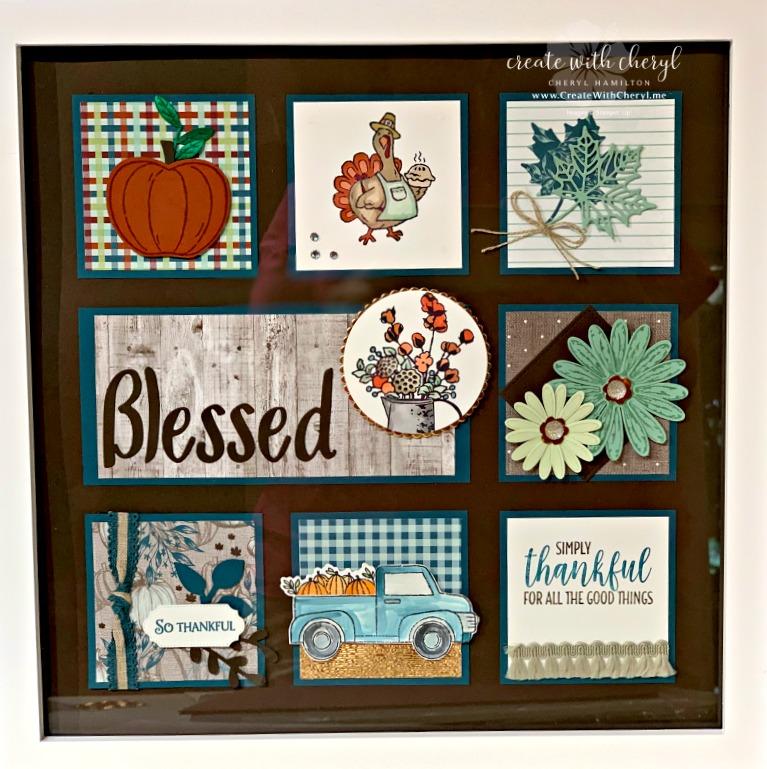 #createwithcheryl #thanksgivingsampler #diyhomedecor #blessed #samplers
