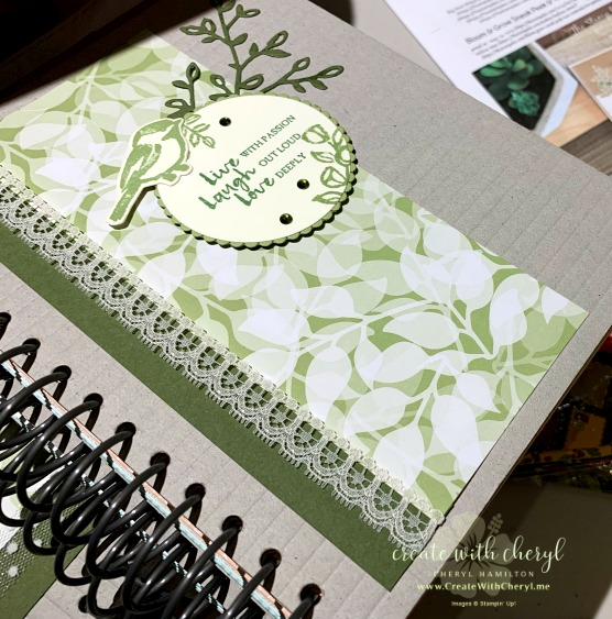 #createwithcheryl #journaling #cherylhamilton #gifts
